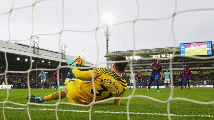 Ederson saves last-minute penalty to earn Manchester City ...